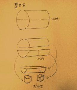 置き台設計図